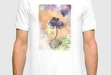 Fashion / Adquira nossas estampas exclusivas em camisetas e ecobags.