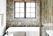 Black and white bath / by Tammy Goble