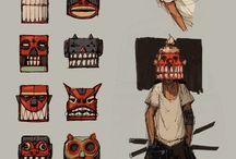 Character design: urban