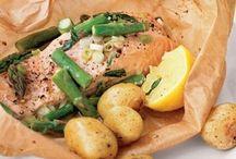 Salmon and food ideas