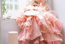 Fashion. Dresses. Extravagant
