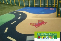 Wetpour Graphics Inserts / Wetpour Graphics Rubber EPDM Inserts