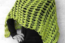 spring - summer - autumn / crochet shawls & ponchos