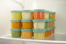 Homemade baby foods