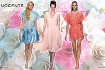 S/S 2015 Trends No. 1: Innocents / Innocent is sweet but not always so innocent… naughty and nice… lingerie look… sheer lace… playful junior trend… retro silhouettes from skater skirts to pedal pushers… '60s revival… sweet wildflower shades. (Spring/Summer 2015 Trends No. 1: Innocents)  http://www.colourandtrends.com/