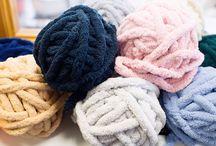 BeCozi Chunky Chenille yarn