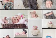 Newborn photography ideas / by Nicole McAleer