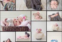 Newborn photography ideas / by Nicole McAleer