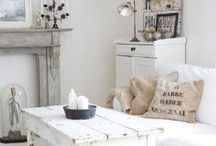 Eclectic Cottage Farmhouse / Mix and Match Casual Cottage Style with a Farmhouse Flair / by Fox Hollow Cottage