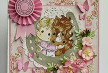 cards for girl by hempukka