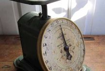 Vintage Scales / by Lisa Replogle Shoenfelt