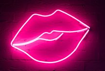 Neon Lights / shapes, words, saying etc