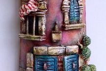 фигурки керамика