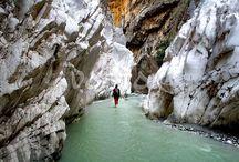 Saklikent Gorge / Saklikent gorge - the longest and deepest canyon in Turkey