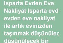 Isparta Evden Eve