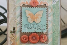 Cards to CASE / Cards that have fabulous layouts, colour combos or elements
