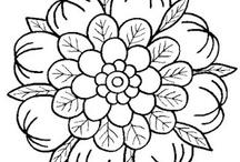 Color pages & paper crafts
