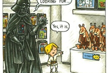 Star Wars and Other Cool Humorous Stuff / by Crista Coffey
