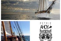 Petrie Ahoy / A Tattoo palour on the Kathrina Sailing Ship Helsinki.