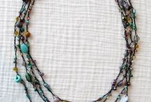 Beaded crafty necklace