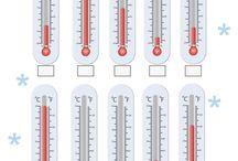 Καιρός - Μέτρηση θερμοκρασιας