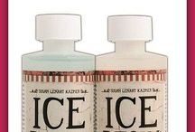 Ice resin