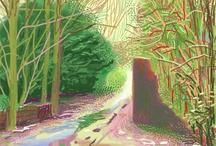 Bomen David Hockney