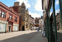 Stockport old town stalls and old town trail / Grabbing customers attention and leading them to see what Stockport old town has to offer