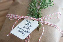 Natal | Idéias de embalagem de presente