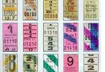 Papel entradas, tickets  y billetes Colecciones