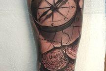 Kompas tattoo