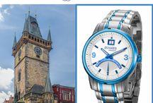 :: Diplomatic Praga :: / Relojes Duward inspirados en la bonita ciudad de la República Checa.