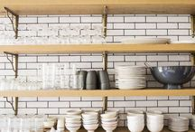 Subway Tile Inspiration / Here is a collection of our favorite subway tile inspiration and design installations.
