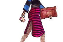 droings Fashion Illustrations