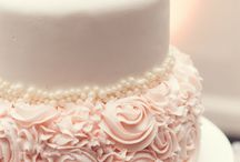 Wedding Cake Inspiration / Uplighting and wedding cake examples for your event or reception!