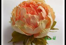 цветы из фоамирана мк