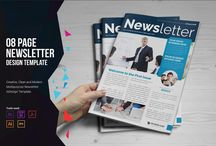 25+ Printable Newsletter Templates – PSD,Indesign,Word,Ai