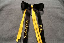 cheer - bows / love these