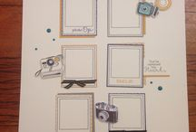 Scrapbook creations by Donna / A variety of layouts created by me. Some are my original designs or inspired by others.