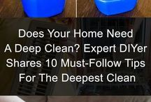 House Cleaning hacks/DIY's