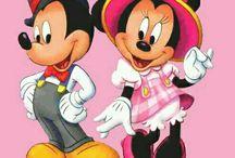 Mickey and Minnie♡¤♡