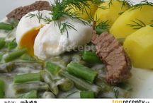 Zelena fazuľka s koprom