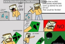 Funny Minecraft Comic Strips