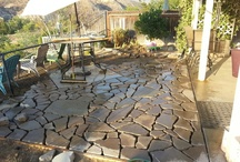 Patio Design Using Recycled Concrete