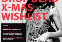 Drop Dead Xmas Wishlist / My wishlist for xmas :)