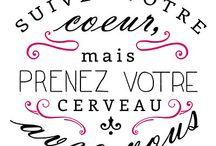 Citations J'ADORE