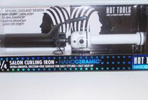 Hair tools, curling.,flat iron, blow dryer / by Manny Paez