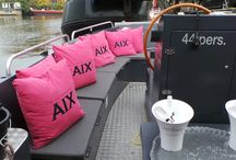 BOAT / Enjoying the outdoor life without wasting energy. Sit & Heat heated boat cushions.