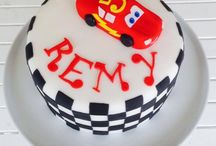 Cake Decorating - Lightening McQueen