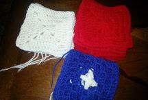 Crochet---All American Bag / by Pam Beck